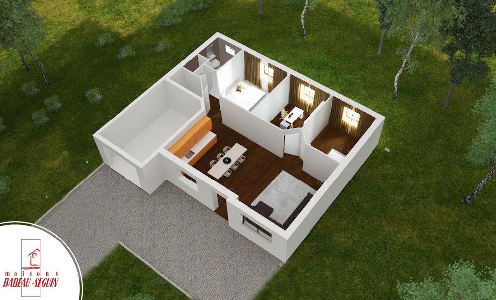 Plan Maison  Chambres D