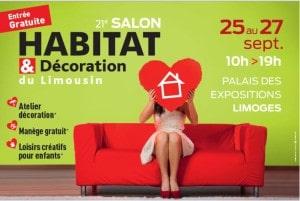 Visuel Salon de l'Habitat Limoges 2015