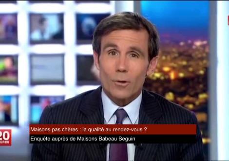 Babeau Seguin au JT de 20h de FRANCE 2