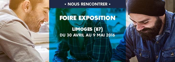 Babeau-Seguin à la foire expo de limoges