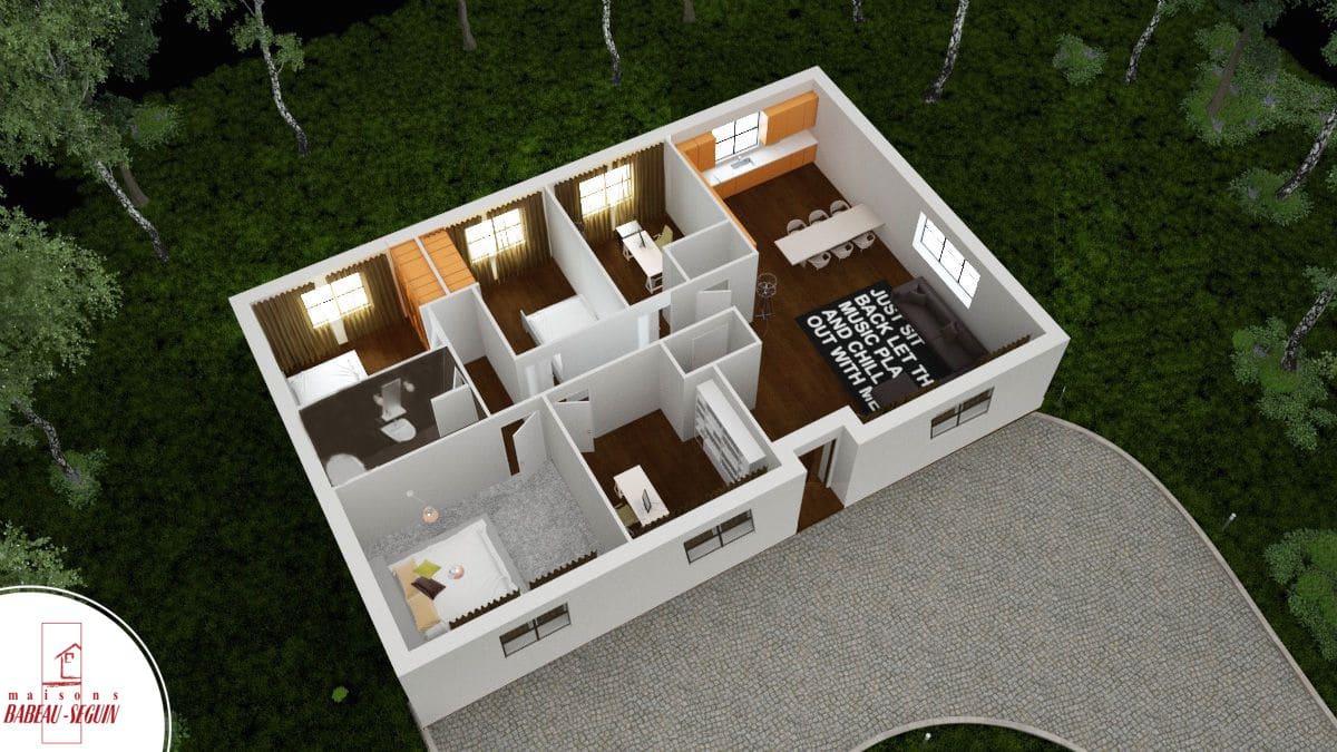 f9b2fd783aa6c Aubetiere -maison moderne plain pied pas cher