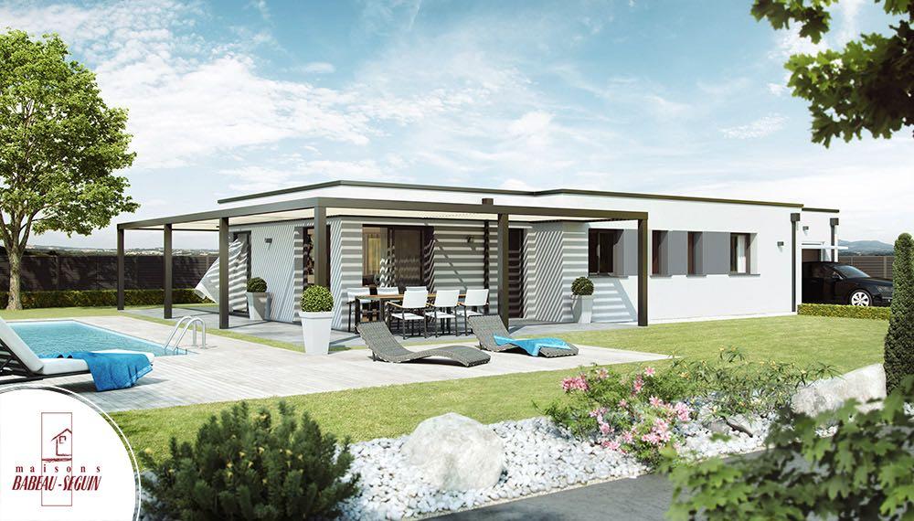 maison architecte pergolair