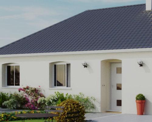 Simple plans de maisons et modles with modle de maison for Modele maison floriot