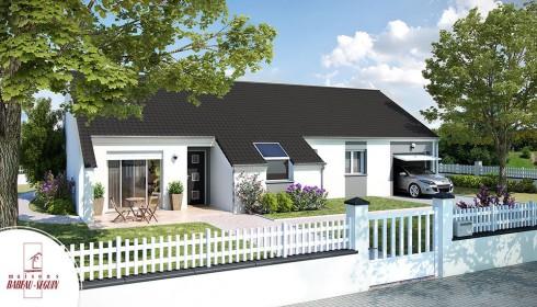 D couvrir nos mod les de maison contemporaine for Villa basse moderne