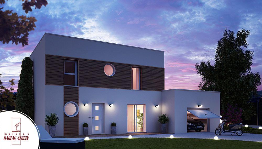 maison contemporaine bois saturne
