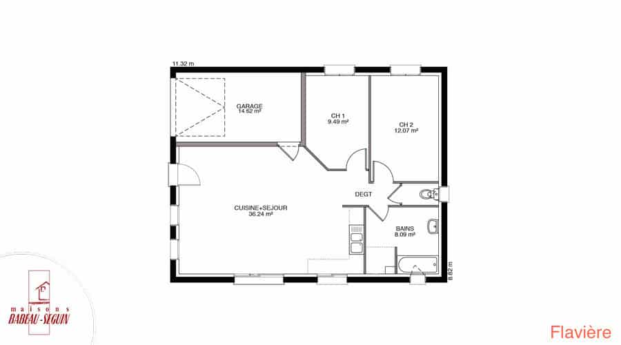 plan maison flaviere 70