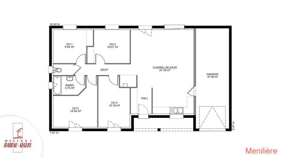 plan maison meniliere 101