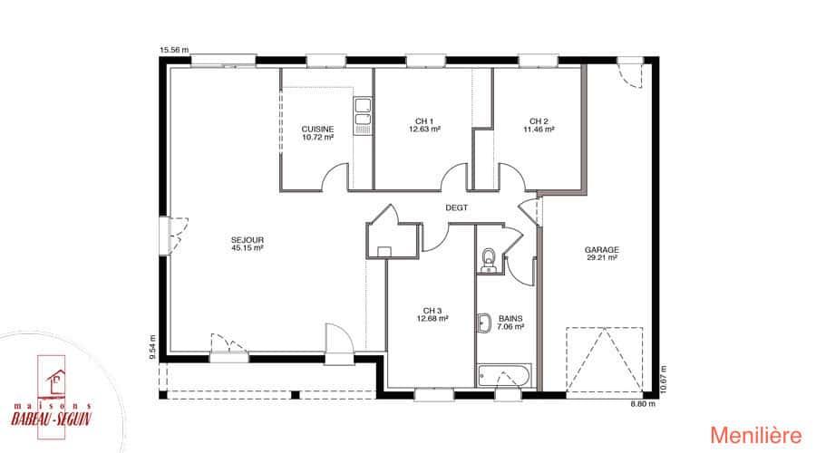 plan maison meniliere 109