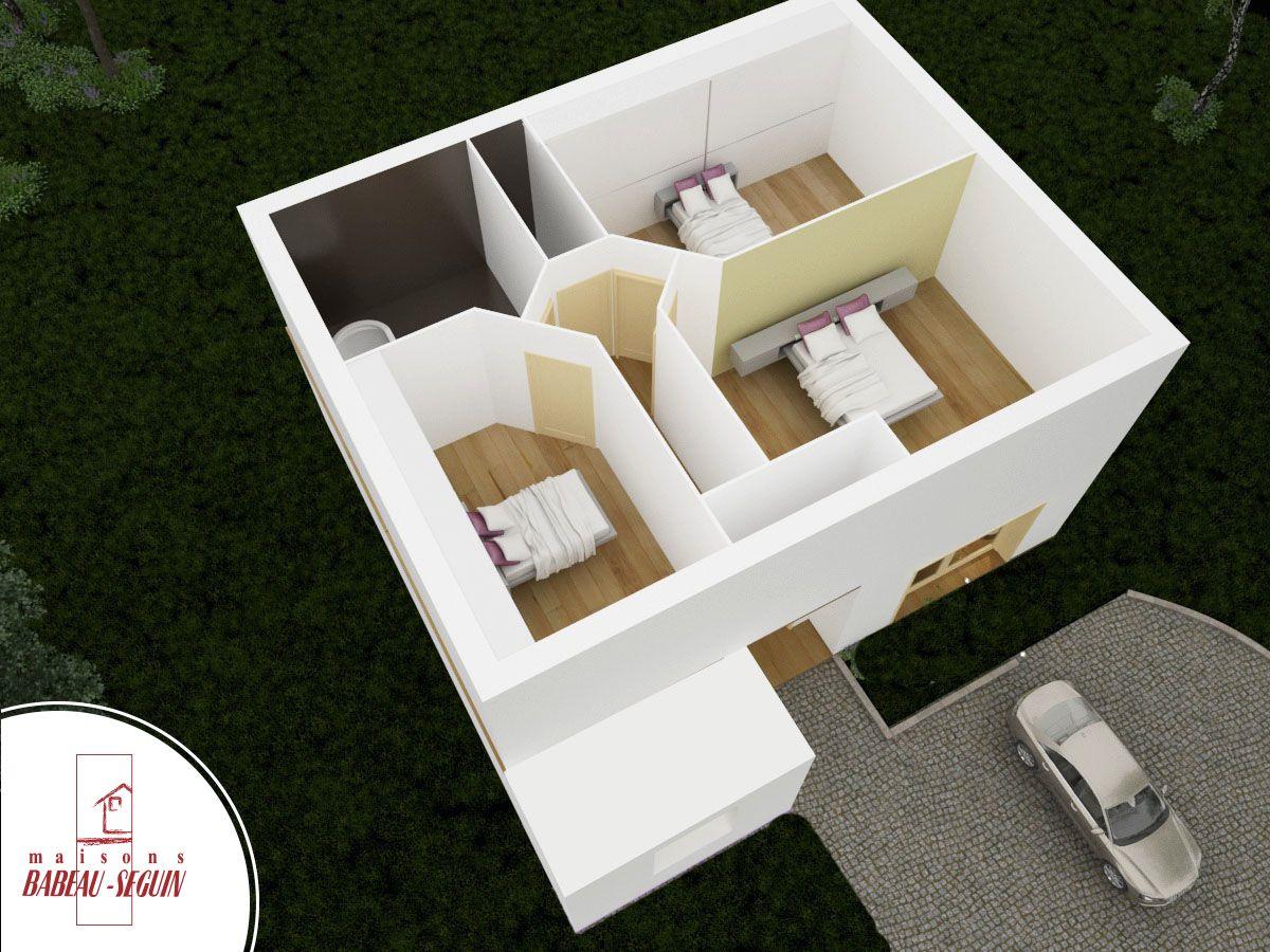 franci re maison moderne originale. Black Bedroom Furniture Sets. Home Design Ideas