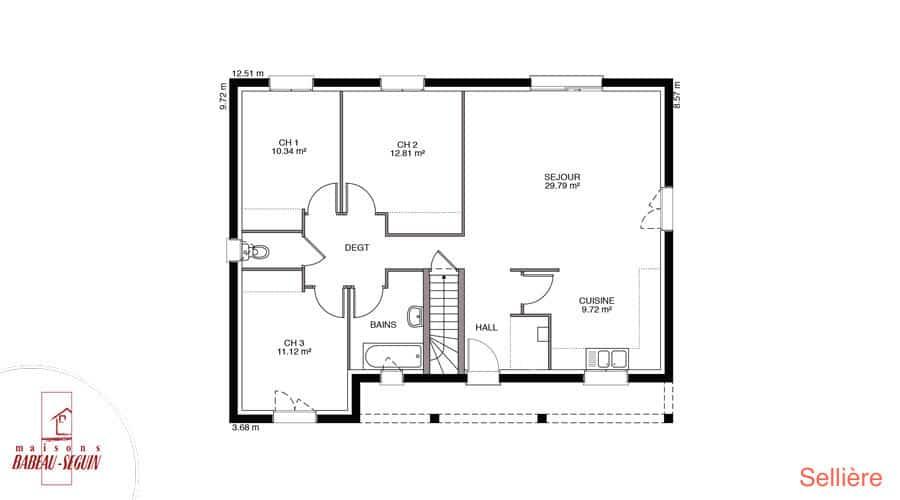 Plan maison selliere 91