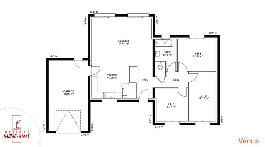 Plan Maison A Etage 110m2 | Ventana Blog