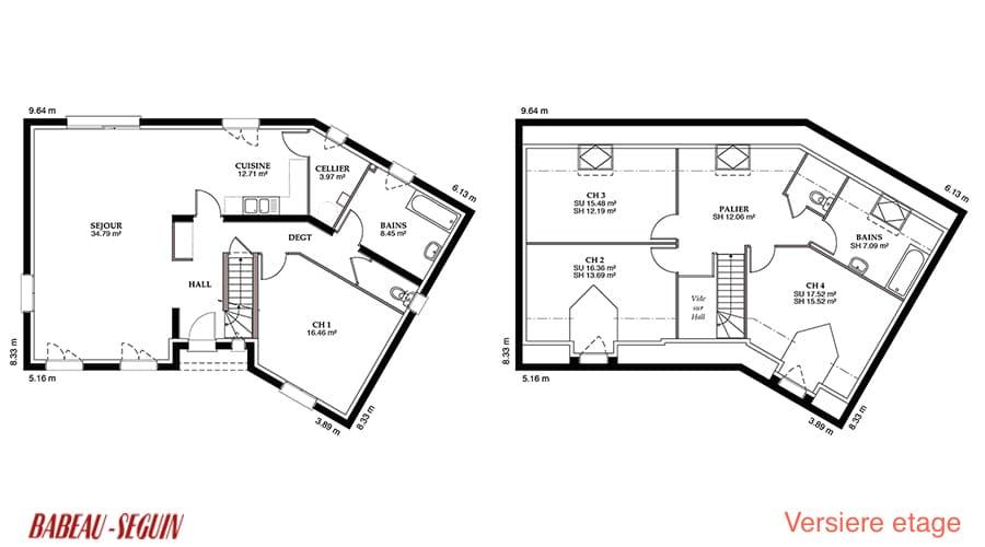 Plan De Maison En V Avec Etage Infos Et Ressources