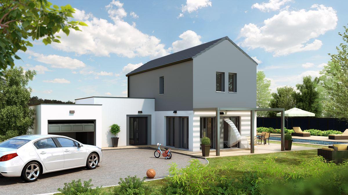 maison moderne senza