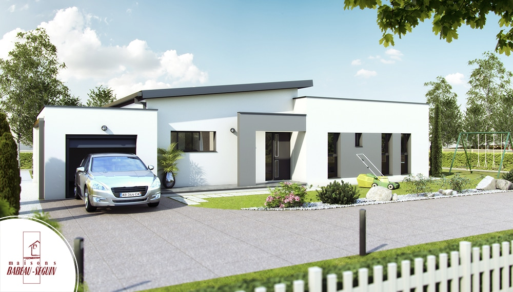 Crescendo mod le de maison contemporaine plan architecte for Photos contemporaines
