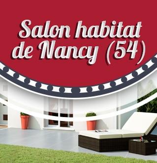 Salon habitat de nancy du 5 au 9 mars for Salon habitat nancy