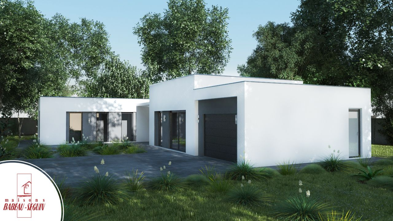 Maison moderne coup de coeur 2015 for Plan maison contemporaine en l