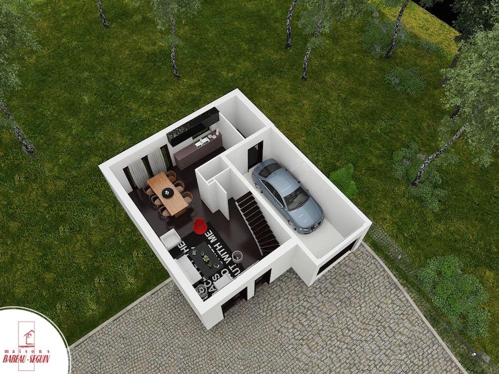 Extenso 93.1 p pplan maison 3D interieur