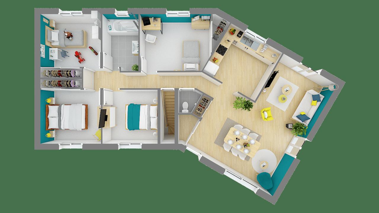 Versiere Maison Avec Plan En V 12 11