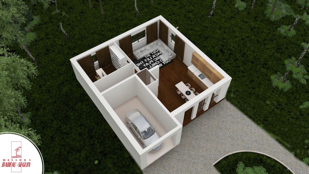Focus maison personnalis e low cost for Modele maison 85 m2