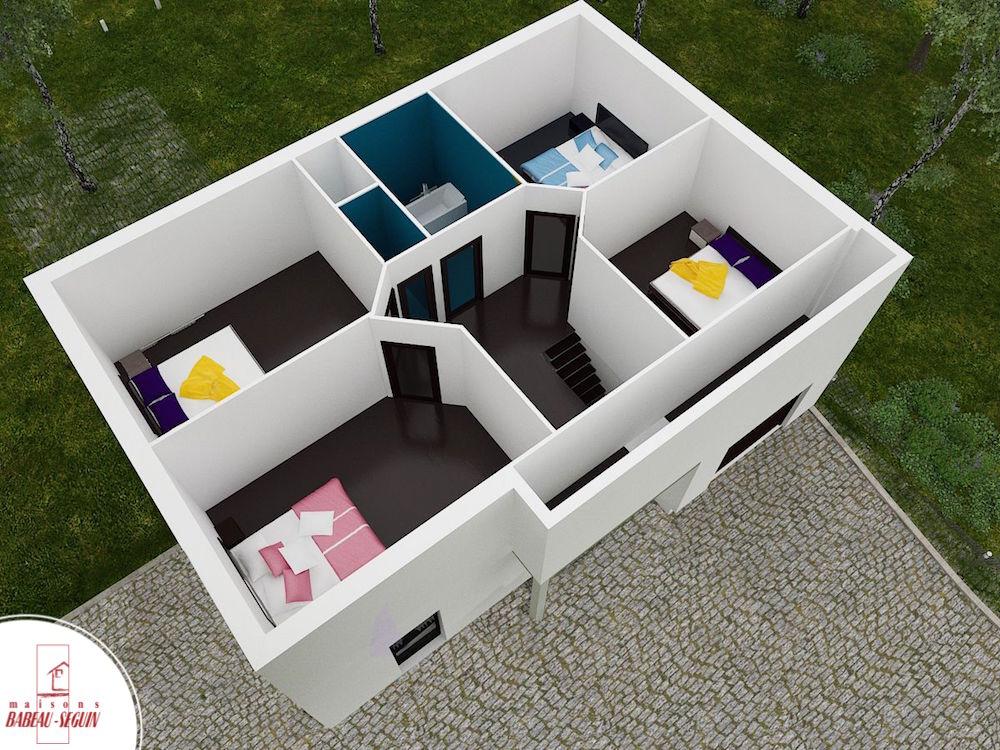 liverdiere haut 125 1 ppplan maison 3D interieur