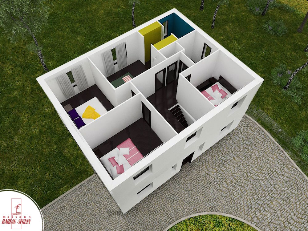 tilhommiere 138.5 1 2ppplan maison 3D interieur
