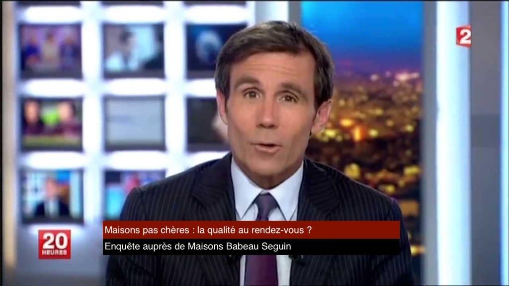 enquete sur les maisons premier prix Journal France 2
