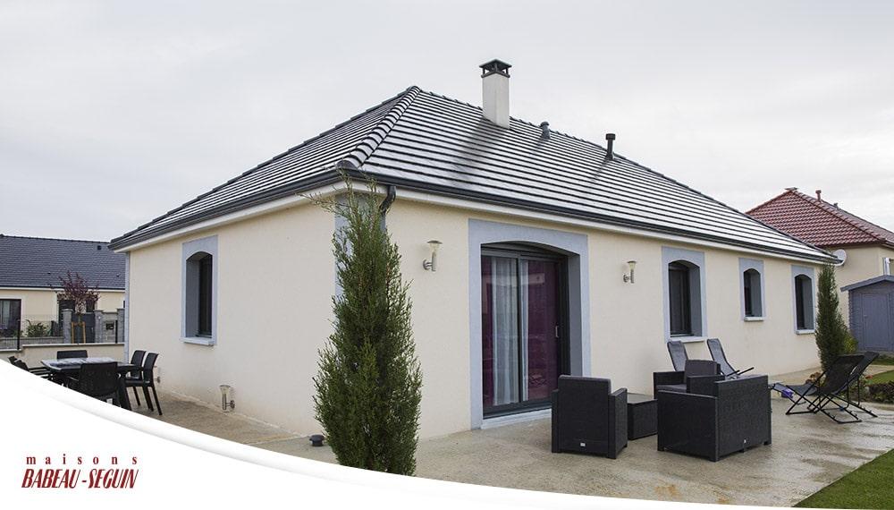 Maison moderne et familiale for Terrasse seguin