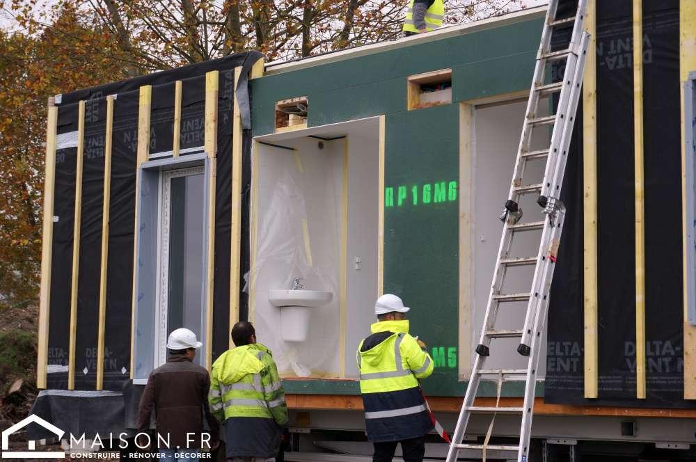 Cheap aucun dbat de ce cot l la maison prsentant une for Maison container 81