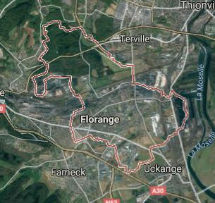 Terrain maison florange 57 for Florange 57