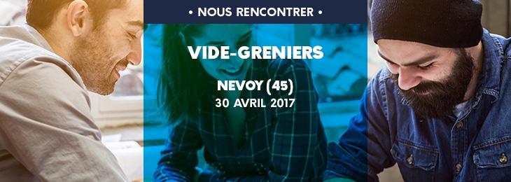 Brocante vide greniers de nevoy construire sa maison pas for Vide grenier loiret 2017