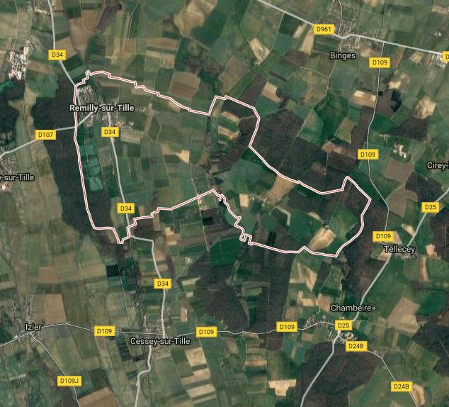Terrain maison remilly sur tille 21 for Remilly sur tille
