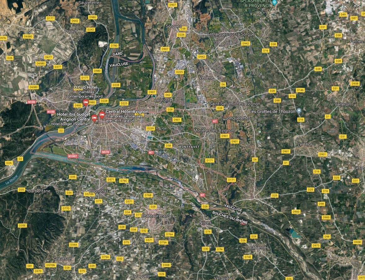 Terrain de 497 m avignon 84 for Code postal avignon