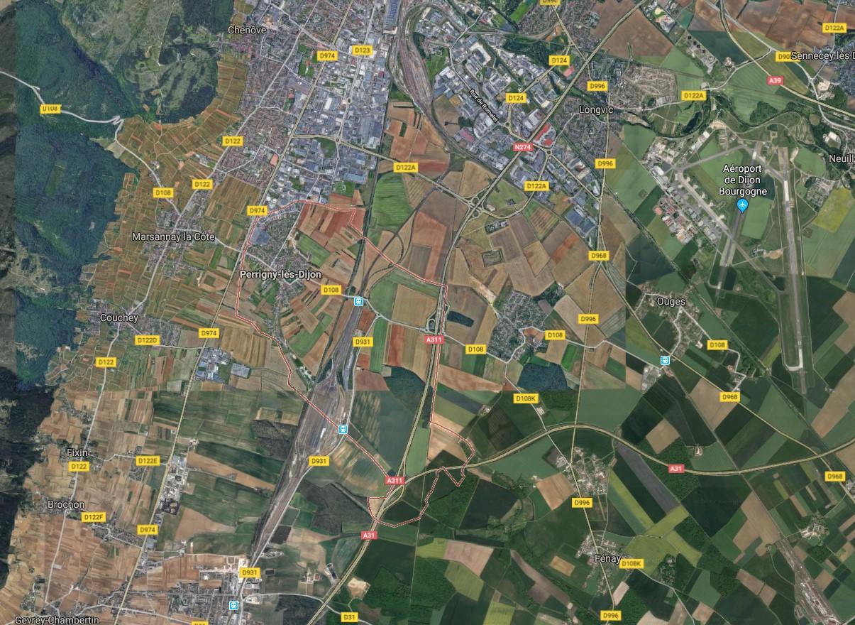 3e0de9d70b4c Terrain + Maison à Perrigny-lès-Dijon - 21