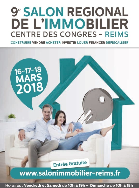 salon de l 39 immobilier reims du 16 au 18 mars 2018. Black Bedroom Furniture Sets. Home Design Ideas