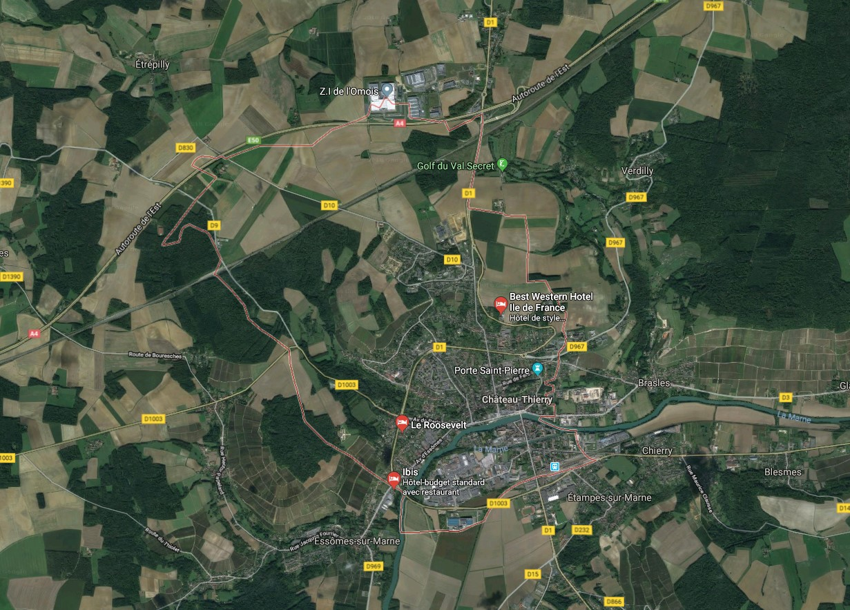 Terrain + Maison à Château-Thierry - 02
