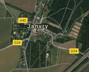 JANVRY 1391M²