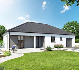 maison traditionnelle neuve